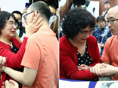 Man abducted as a baby 32 years ago is finally reunited with his parents