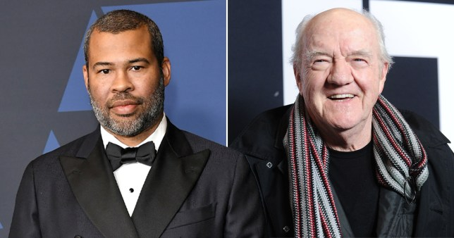 Jordan Peele and Richard Herd