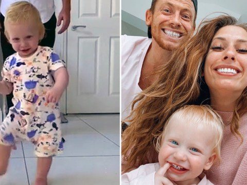 Stacey Solomon gets emotional as she reveals baby Rex is walking in the cutest video