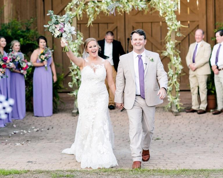 Kelsey et John le jour de leur mariage.