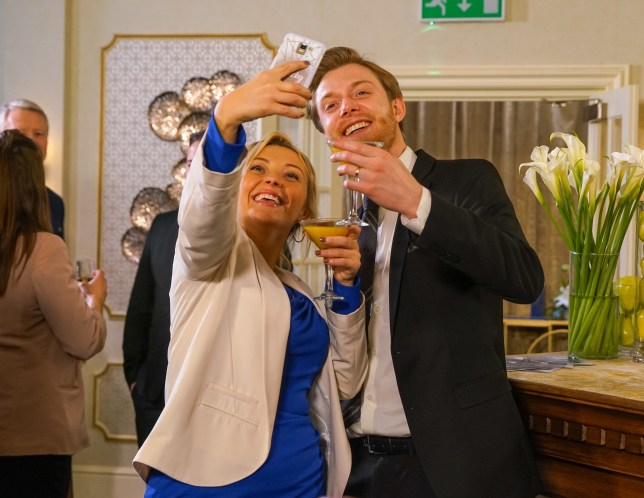 Daniel and Nicky get on well in Coronation Street
