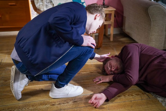 Ben and Jay in EastEnders