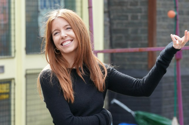 Stacey Dooley in EastEnders: Secrets From The Square