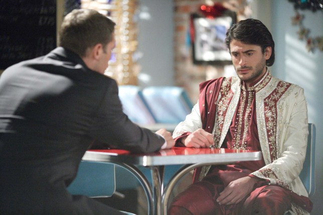 Syed and Christian in EastEnders