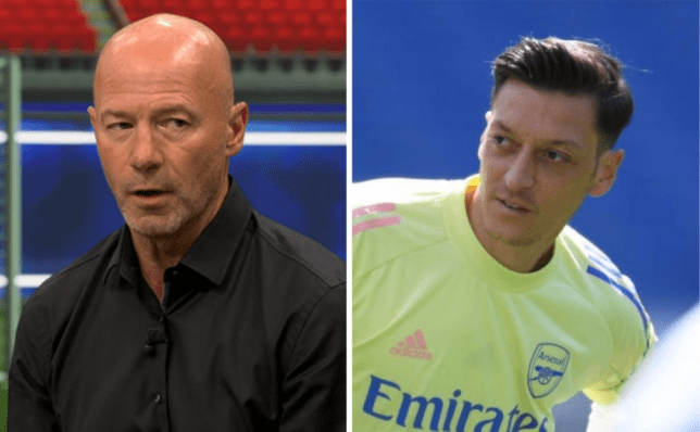Alan Shearer blasts Mesut Ozil after Arsenal's defeat to Brighton