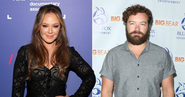 Leah Remini and Danny Masterson
