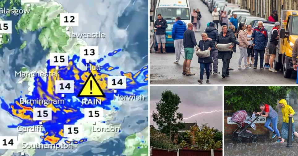 The Met Office is warning of more storms, heavy rain and flash flooding across England and Wales today