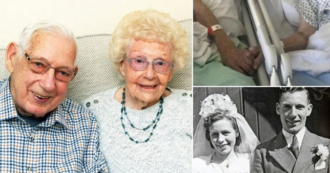 Married couple died of coronavirus days apart after holding hands in hospital