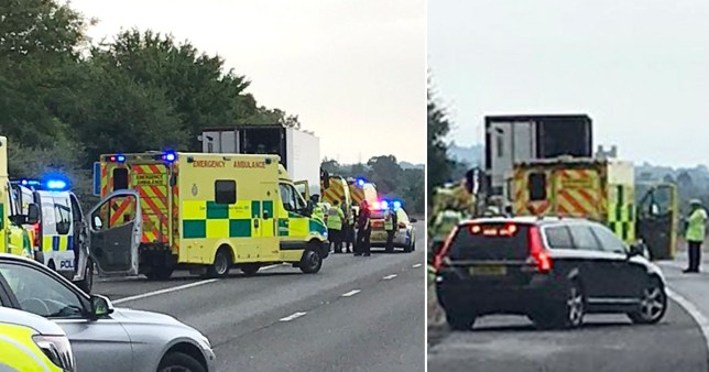 16 arrests after people found in lorry near Harlow, Essex