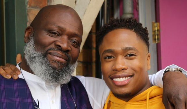 Walter and Mitchell in Hollyoaks