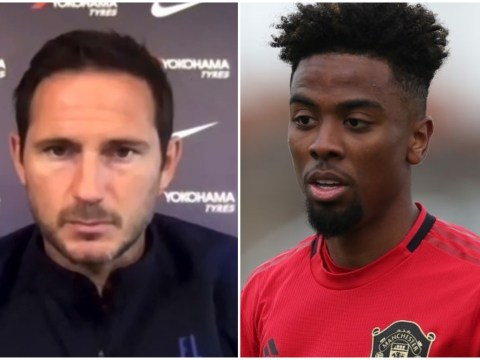 Frank Lampard denies Chelsea move for Manchester United midfielder Angel Gomes