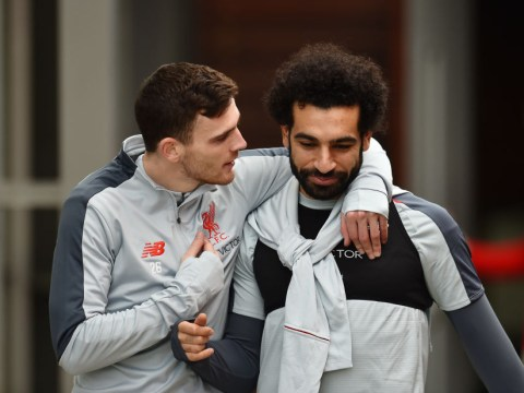Jurgen Klopp provides Mohamed Salah and Andy Robertson injury updates ahead of Liverpool's clash against Crystal Palace