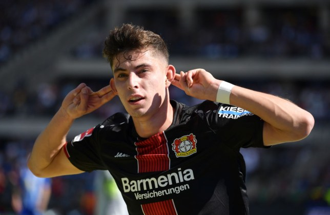 Chelsea finally agree mammoth club-record fee for Kai Havertz with Bayer Leverkusen