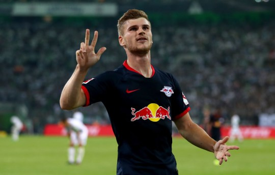 Timo Werner finished the season with 34 goals for RB Leipzig