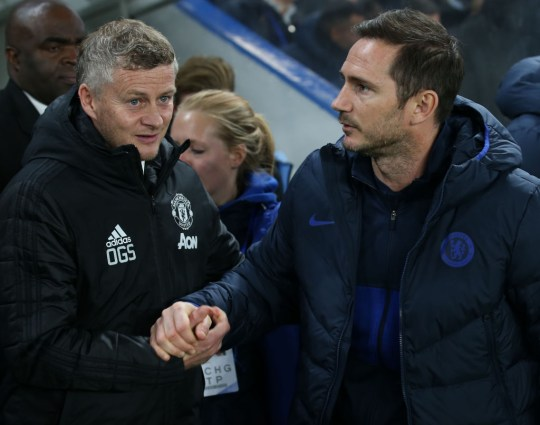 It's a big season for Ole Gunnar Solskjaer and Frank Lampard