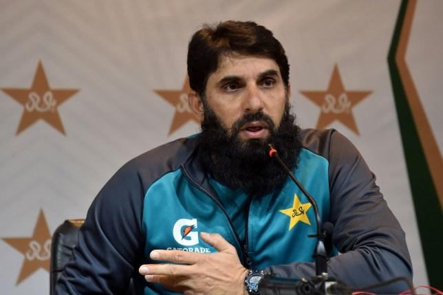 Pakistani head coach and chief selector Misbah-ul-Haq