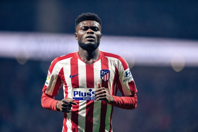 Atletico Madrid midfielder Thomas Partey