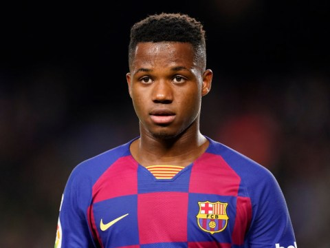 Manchester United submit £89m offer to sign Ansu Fati from Barcelona