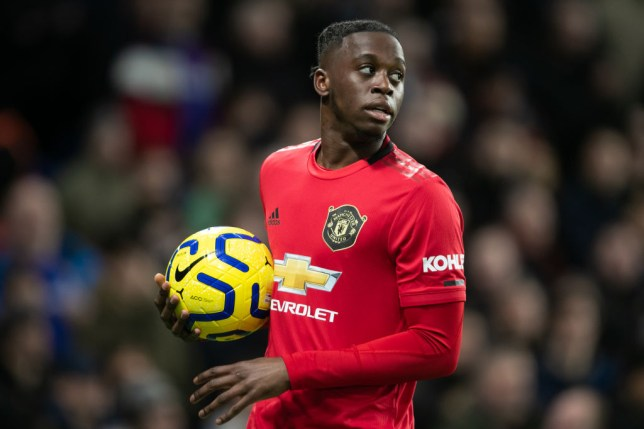 Aaron Wan-Bissaka signed for Man Utd from Crystal Palace last summer in a £50million deal