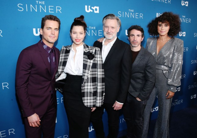 Matt Bomer, Jessica Biel, Bill Pullman, Chris Messina, Parisa Fitz-Henley