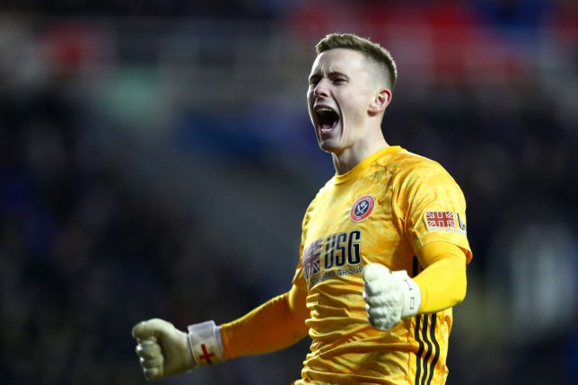 Dean Henderson on loan at Sheffield United