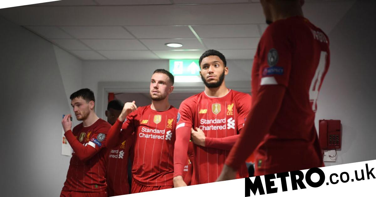 Joe Gomez names two teammates who embody 'what it means to be a Liverpool player' - metro