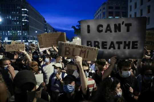 Floyd protests continue on the 6th day in Washington