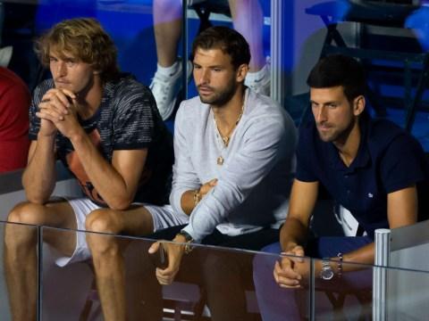 Novak Djokovic's Adria Tour final cancelled after Grigor Dimitrov tests positive for coronavirus