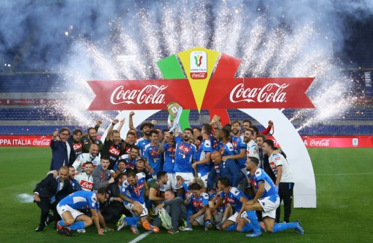 Napoli needed a penalty shootout to beat Juventus in the Coppa Italia final
