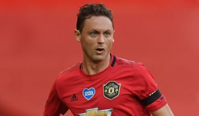 Nemanja Matic has just one year left on his deal with Manchester United