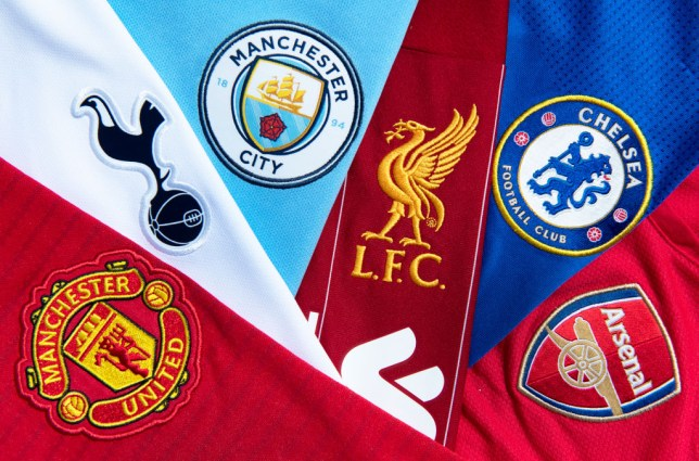 The Top Six Club Badges