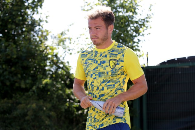 Ryan Fraser arrives for Bournemouth Training Session