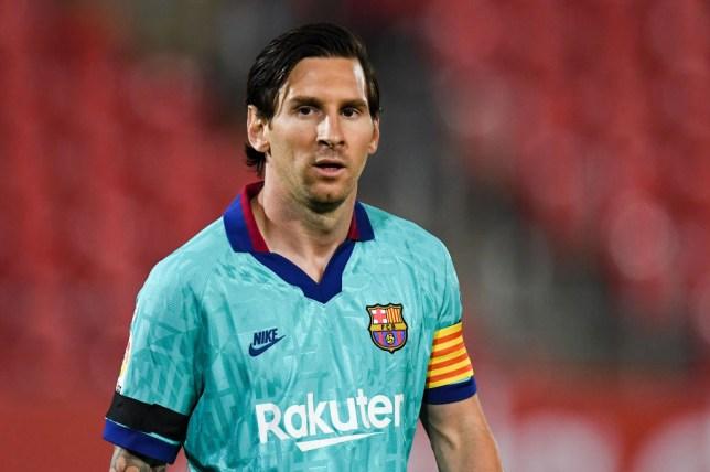 FC Barcelona winger Lionel Messi