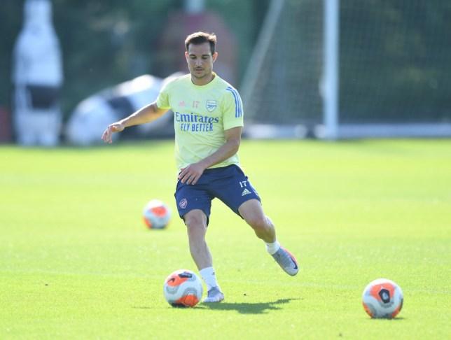 Cedric Soares im Arsenal-Training