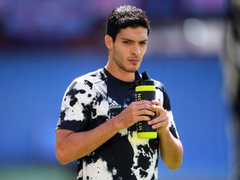 Raul Jimenez flattered by Manchester United transfer speculation but 'very happy' at Wolves