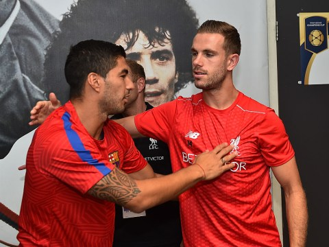 Jamie Carragher reveals how Jordan Henderson's bust-up with Luis Suarez in training helped save Liverpool career