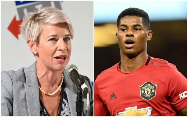 Katie Hopkins disagreed with Marcus Rashford's campaign for free meals for children