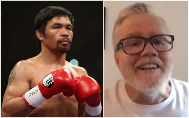Freddie Roach says Manny Pacquiao is still aiming to face the top fighters