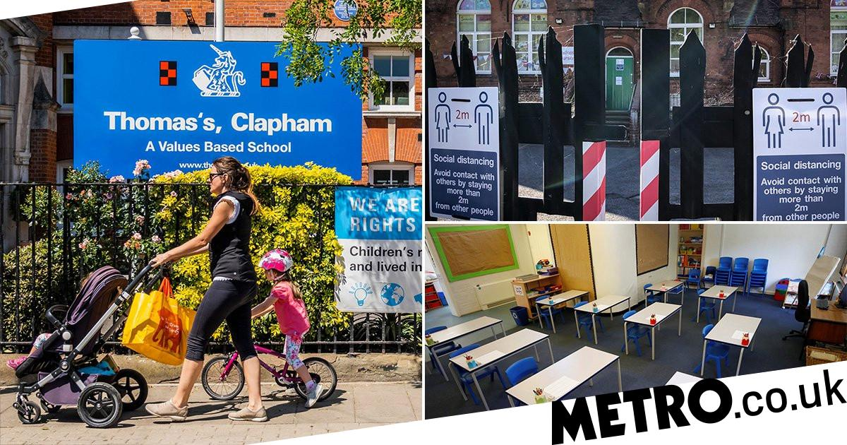 Children return to classes in England as lockdown eases - metro