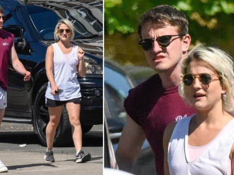 Paul Mescal enjoys stroll with Normal People co-star and 'flatmate' India Mullen