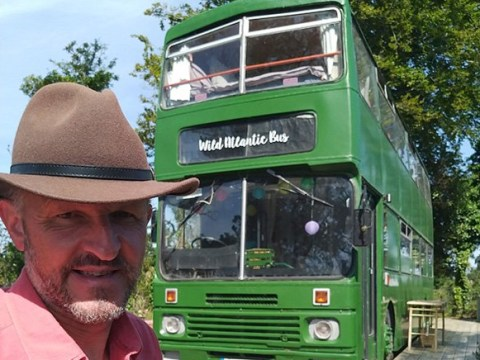 Man spends £31,000 transforming double decker London bus into luxury accommodation