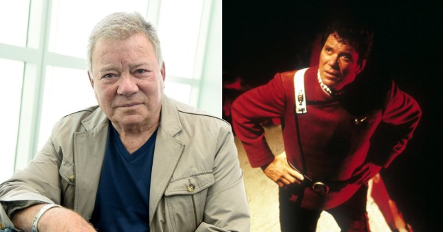 William Shatner as Captain Kirk