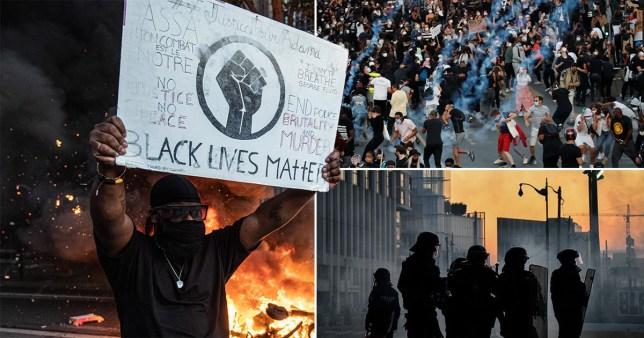 Black Lives Matter proteste en France après la mort de George Floyd