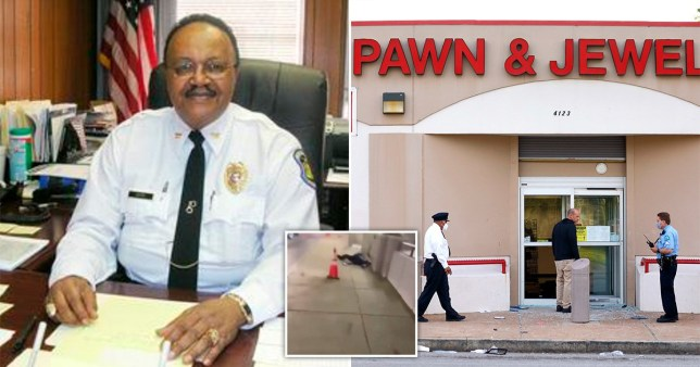 Retired police captain shot dead while protecting his friend's shop from looters