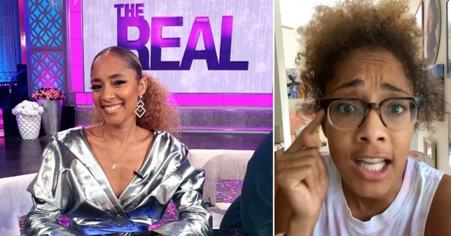 Amanda Seales quits The Real after 6 months as she claims there are not enough Black voices 'at the top'