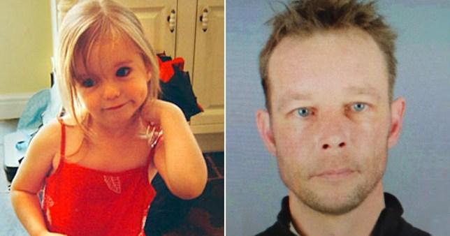 Madeleine McCann and suspect Christian Brueckner
