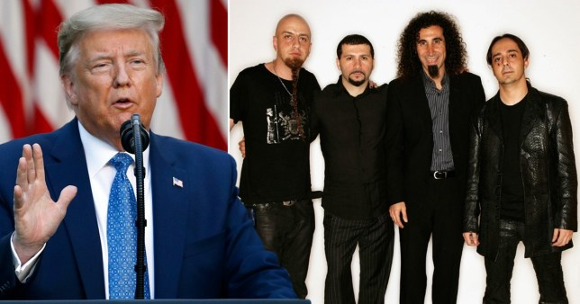 System of a Down and Trump