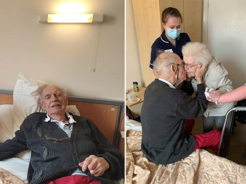 Couple married for 59 years reunited after months apart in separate care homes