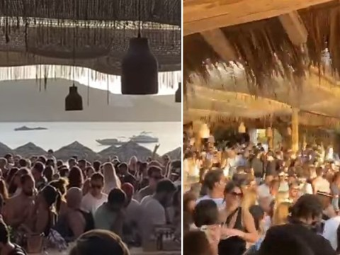 Beach bar closed for two months after huge party fuels coronavirus fears