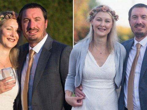 Couple have street party wedding reception after their big day was cancelled due to coronavirus